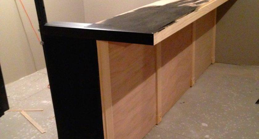 Diy Why Spend More Build Your Own Bar Faux Granite
