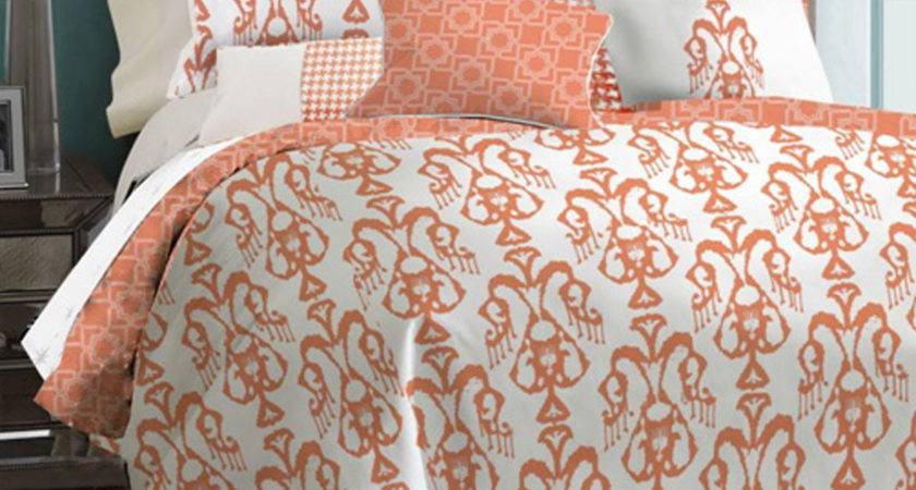 Does Coral Colored Comforters Decor Trends