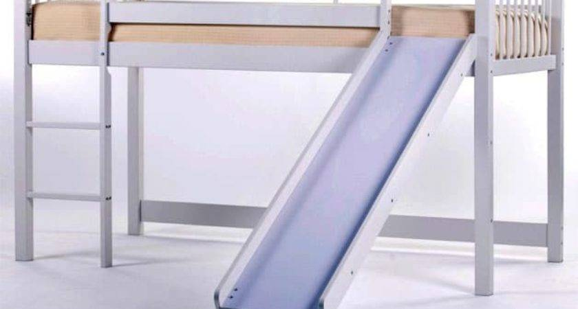 Double Bunk Bed Slide Great Ideas Toddlers