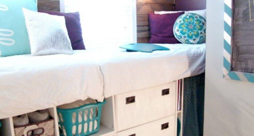 Double Wide High Day Bed Compact Guest Quarters