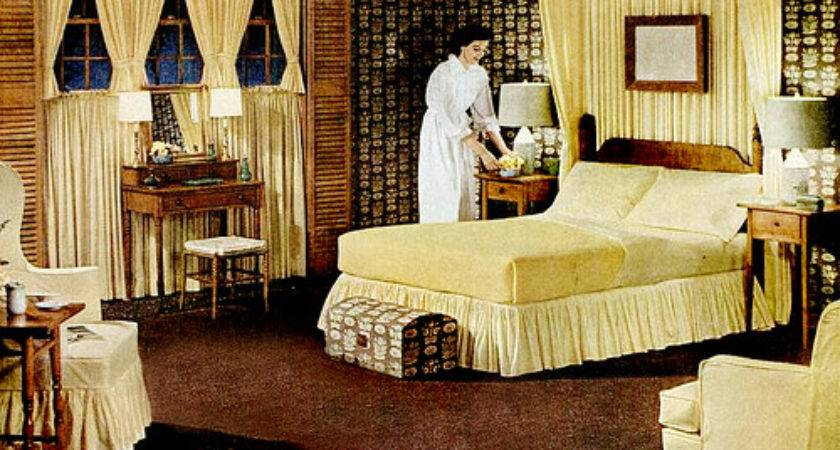 Early Bedrooms Mid Century Living