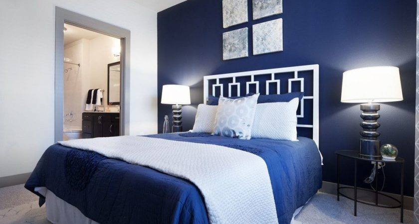 Easy Navy Blue White Bedrooms Within Inspirational