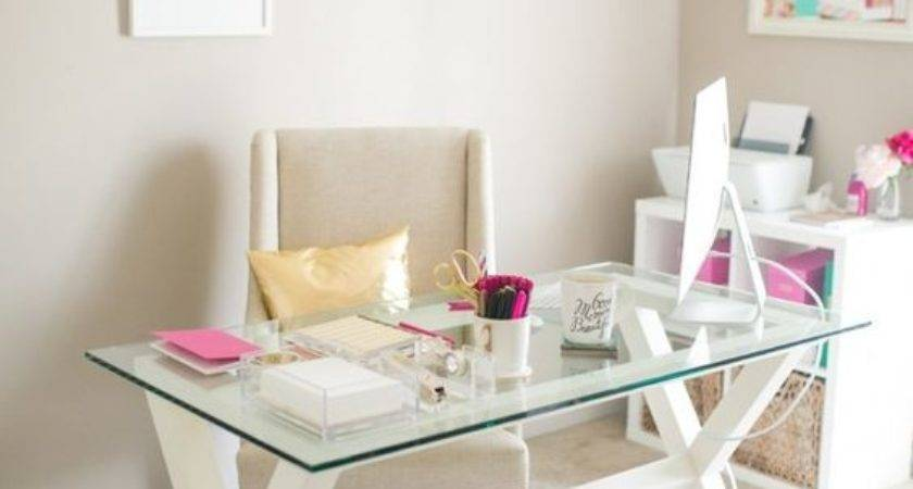 Edgy Glass Desks Modern Home Offices Digsdigs
