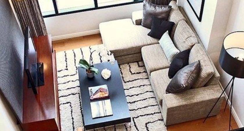 Efficiently Arrange Furniture Small Living