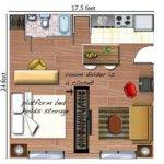 Efficiently Arrange Furniture Studio Apartment