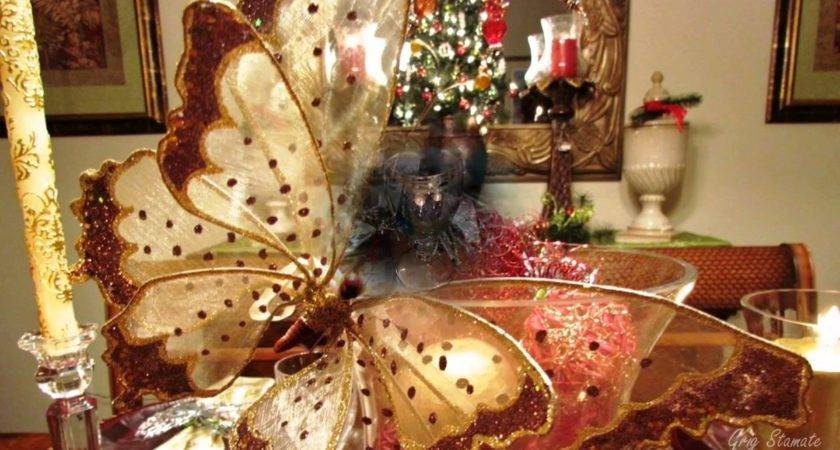 Elegant Christmas Table Top Decoration Ideas Youtube