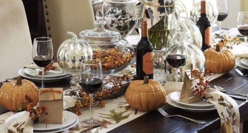 Elegant Easy Thanksgiving Table Decorations Ideas