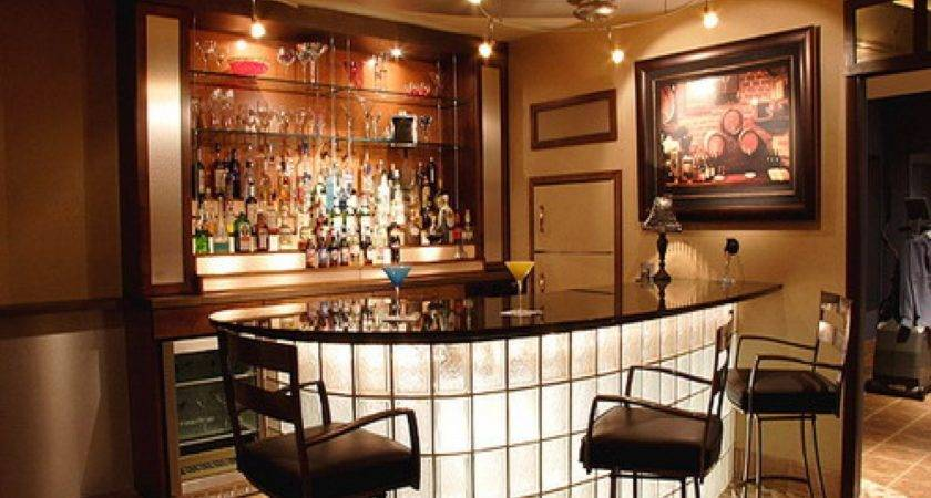 Elegant Home Bar Design