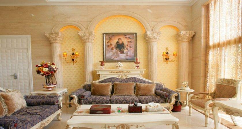 Elegant Italian Living Room Interior Best Wiring
