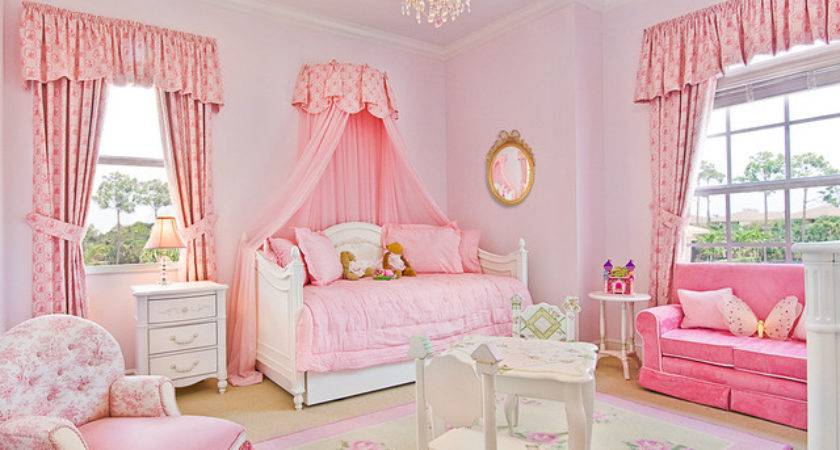 Elegant Pink White Girl Bedroom Ideas Involving Sofa