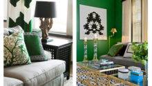Emerald Green Mountain Home Decor