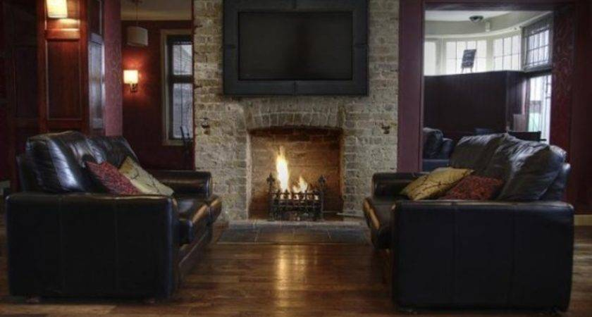 Entertainment Center Above Fireplace Living Room