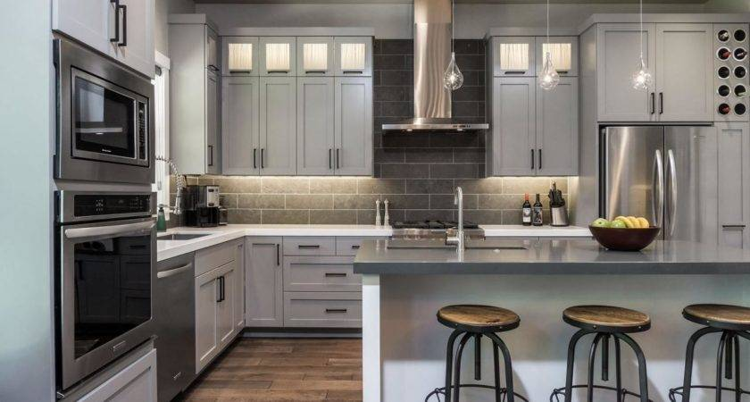 Examples Gray Kitchen Cabinets Quicua