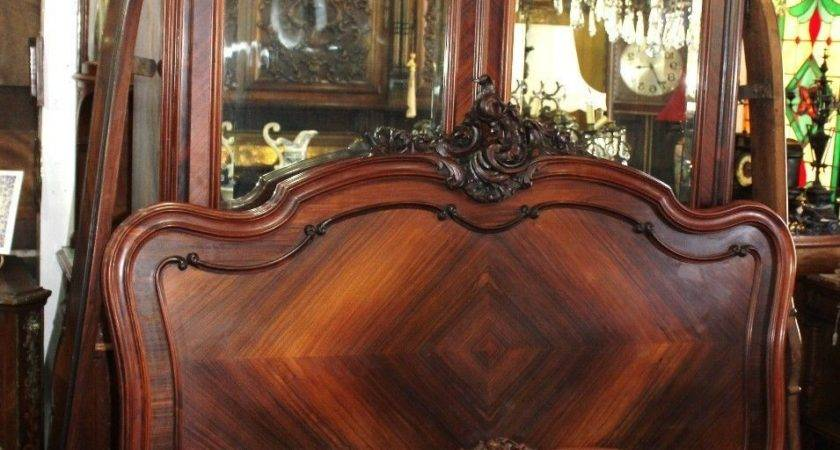 Exquisite French Antique Louis Rosewood Bedroom Set
