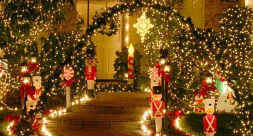 Exterior Christmas Decorations Photograph Outdoor Light