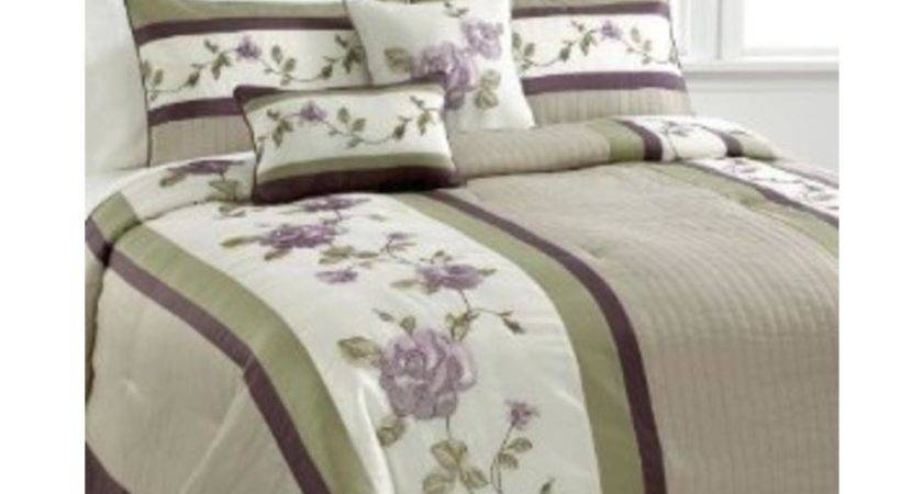 Extreme Linen New Rosemont Ivory Embroidered Comforter