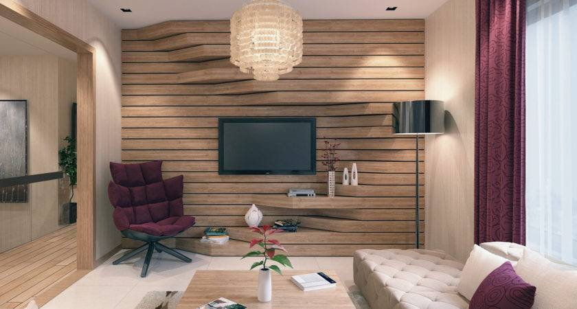 Extruded Feature Wall Interior Design Ideas