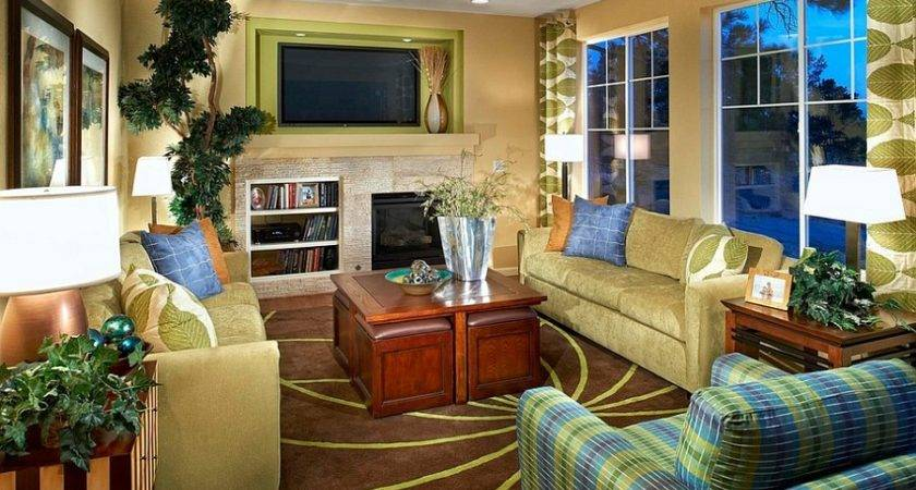 Fabulous Green Yellow Living Room Decoist