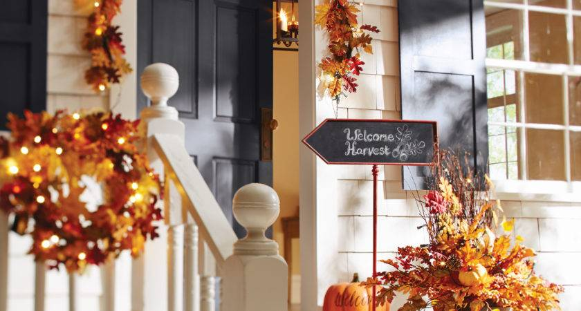 Fall Decorating Ideas Your Front Porch Entryway