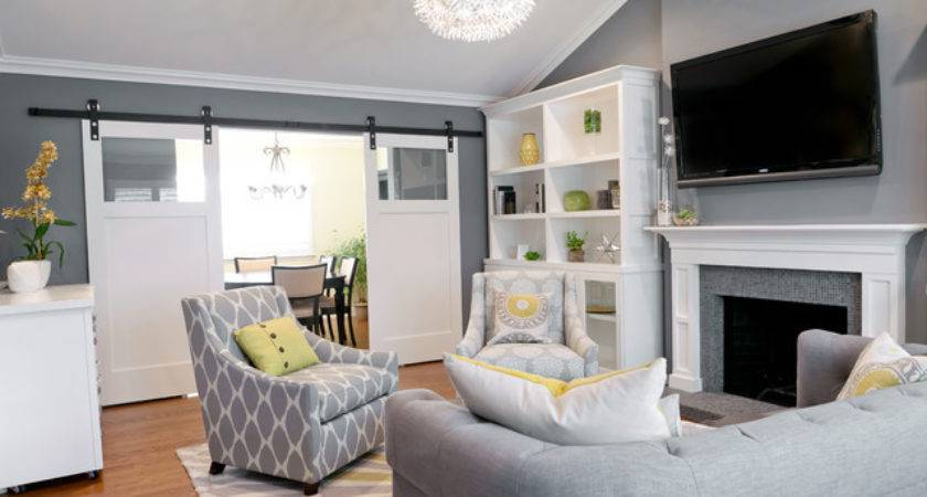 Fashionably Cool Living Room Color Palettes