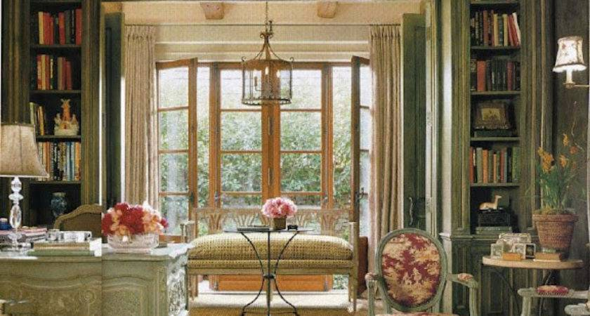Faux French Chateau Adding Vintage Bistro