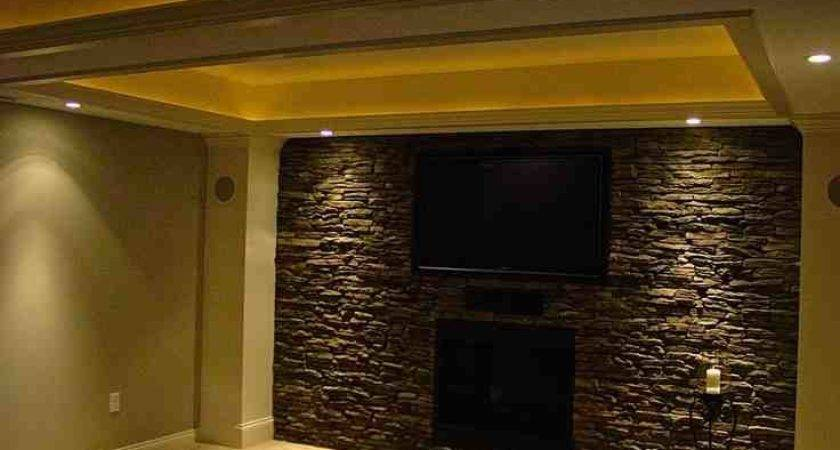 Faux Stone Wall Ideasdecor Ideas