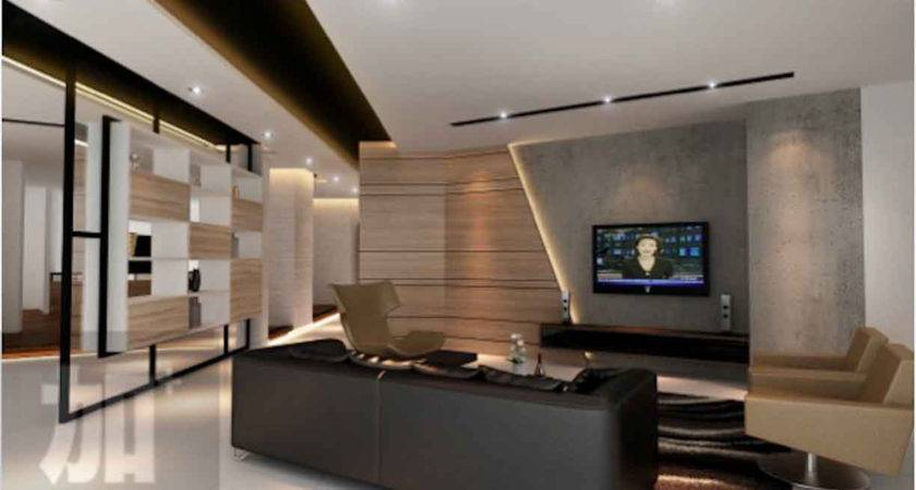 Feature Wall Console Design Singapore Interior