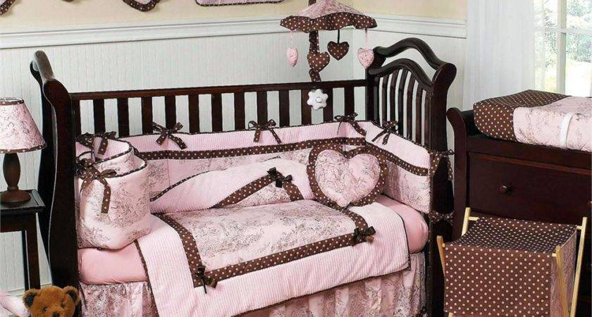Finding Pink Brown Crib Bedding Sets