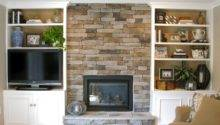 Fireplace Bookcase Ideas Homedesignpictures