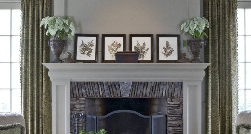 Fireplace Mantel Ideas Room Traditional Built