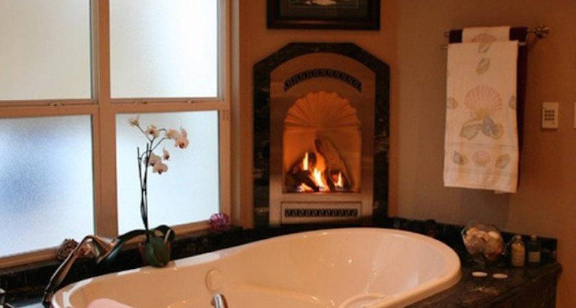 Fireside Bathtubs Cozy Luxurious Soak