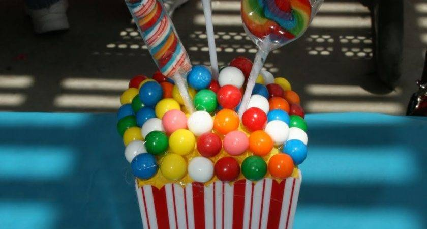 Five Easy Cute Centerpieces Circus Party