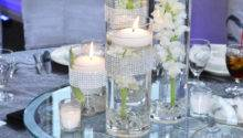 Floating Candle Wedding Centerpieces Cylinder