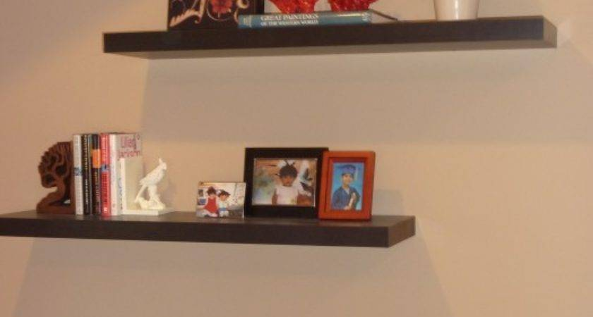 Floating Shelves Decorating Ideascool Wall