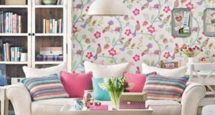 Floral Living Room Ultimate Home Ideas