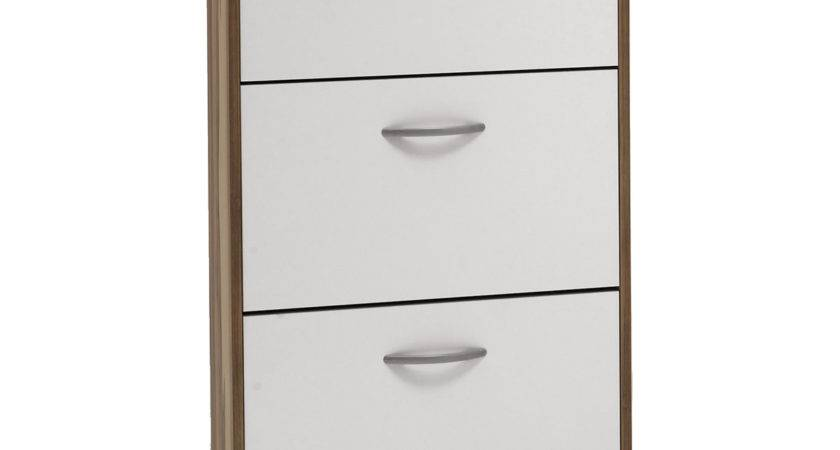 Fmd Step Drawer Shoe Cabinet Next Day Delivery