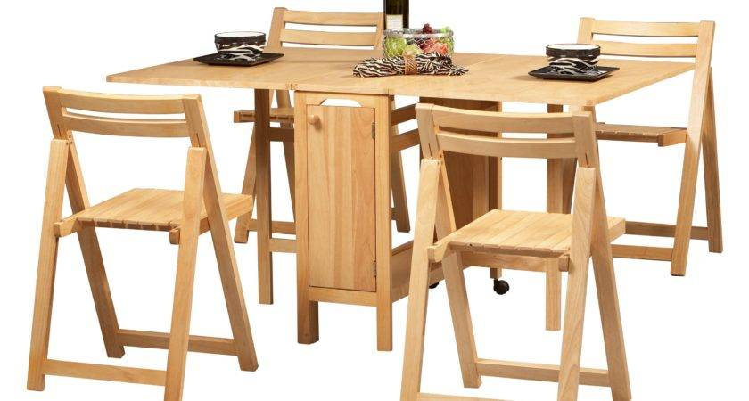 Folding Dining Room Table Chairs Marceladick
