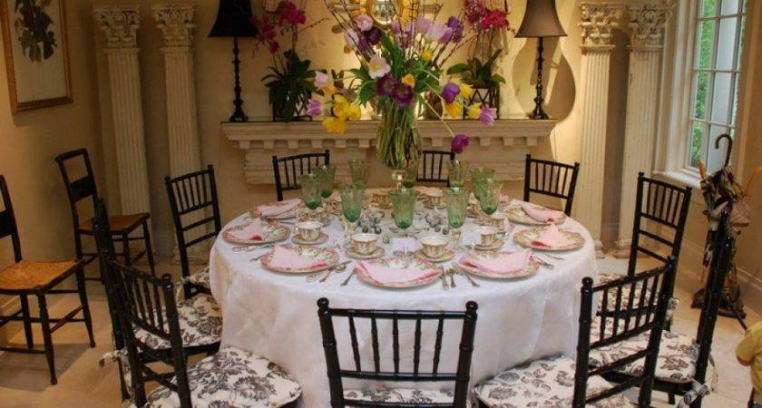 Formal Dining Room Table Setting Ideas Dinner