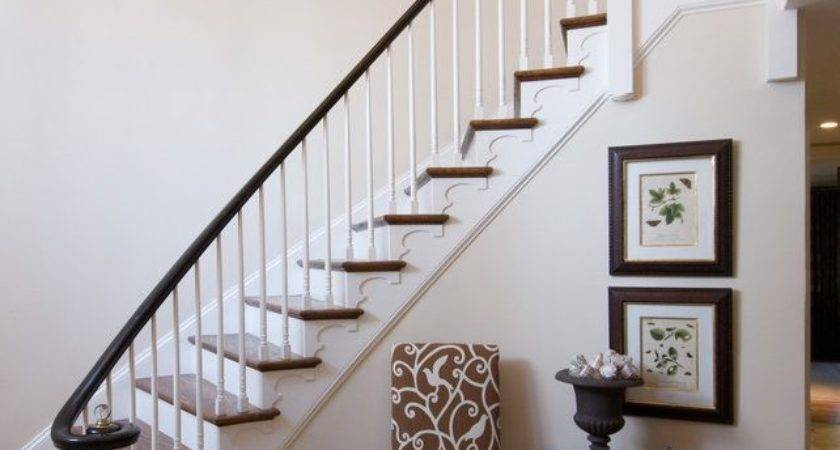 Foyer Stairs Decorating Ideas Staircase