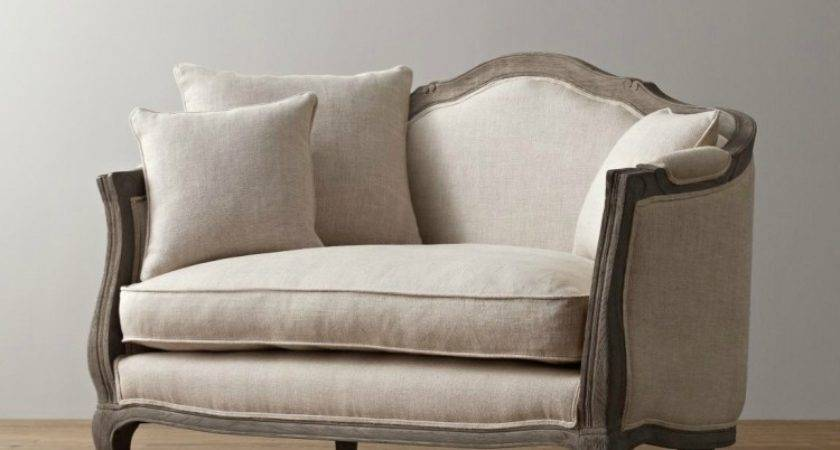 French American Nordic Style Furniture Retro Linen Solid