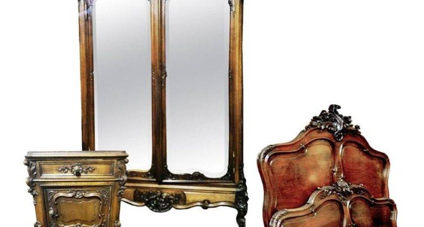 French Bedroom Set Louis Rocaille Style Century