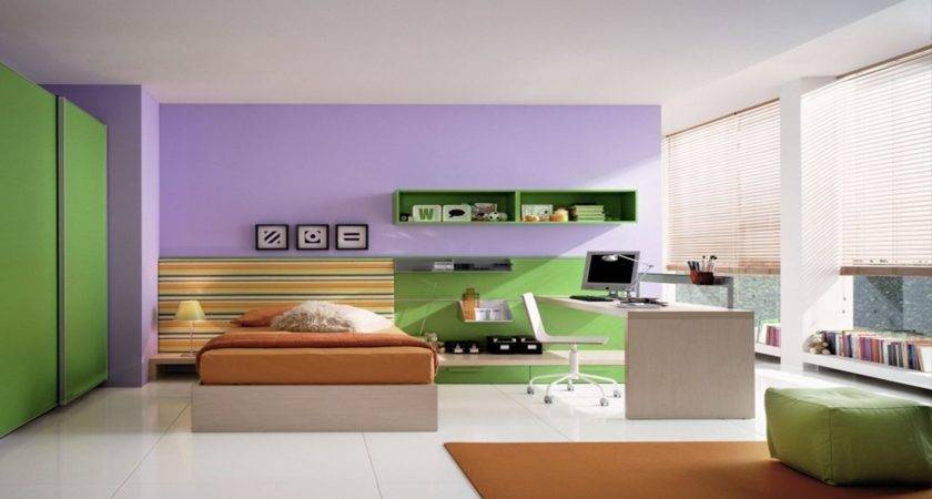French Contemporary Furniture Purple Bedroom Decorating