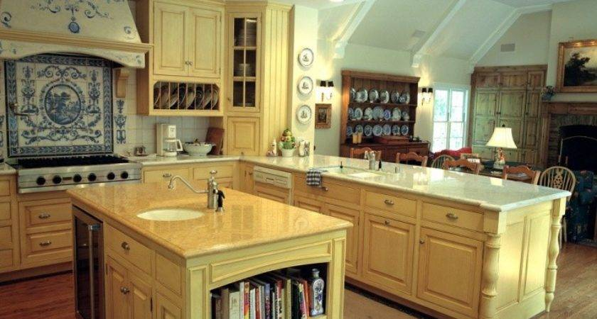 French Country Kitchen Cabinet Designs Ideas Design