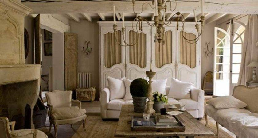 French Country Living Room Furniture White Sofa Ideas