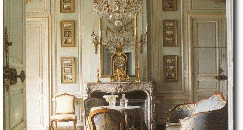 French Interiors Decorating Celadon