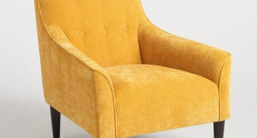 French Yellow Taryn Chair World Market