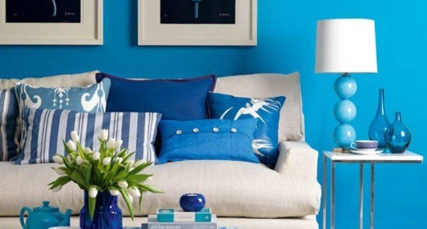 Fresh Blue Living Room Design Housetohome