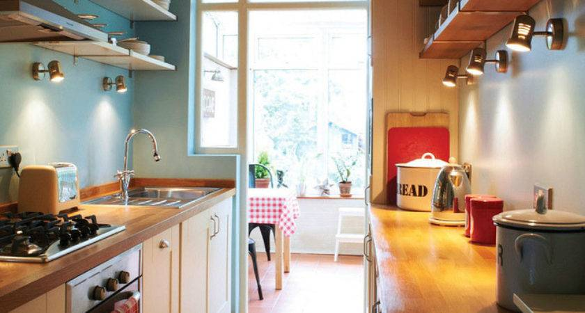 Fresh Clever Small Kitchen Design Intended Space
