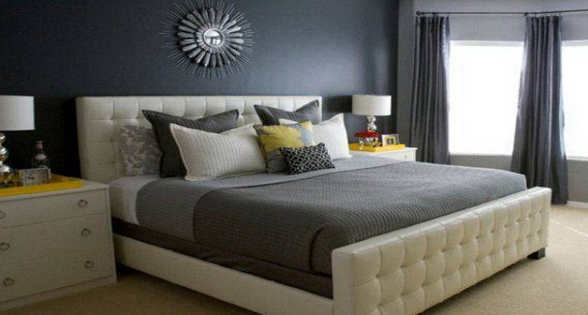 Fresh Grey Bedroom Color Ideas Cool