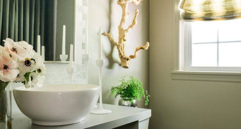 Freshen Your Powder Room Holiday Guests Hgtv